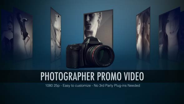 VideoHive Photographer Promo Video