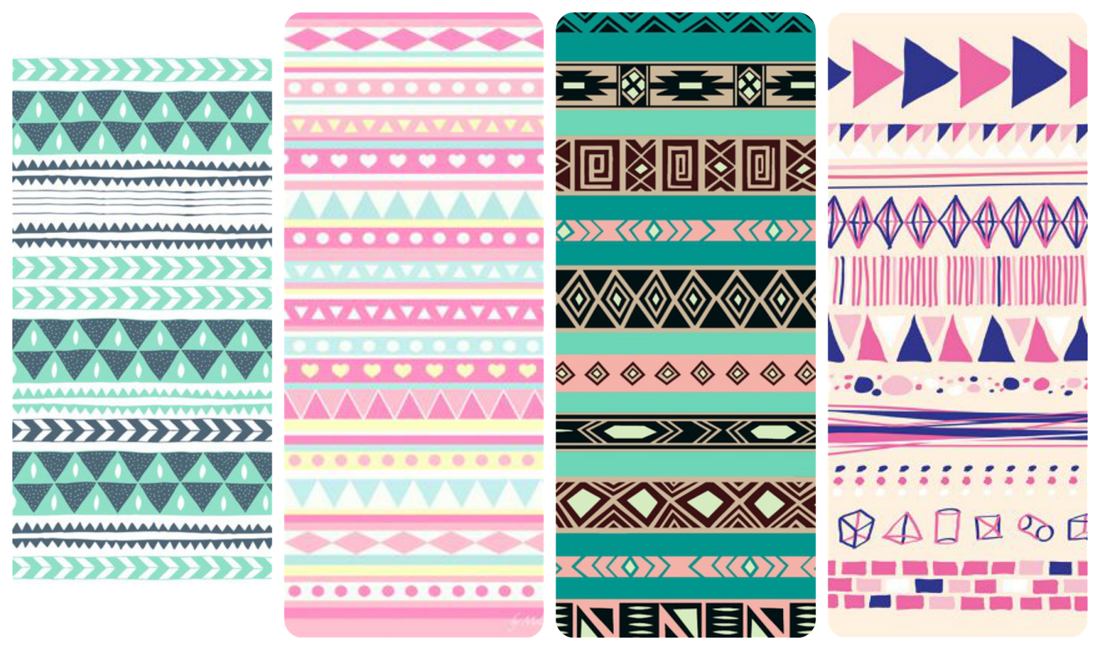fondos chulos de pantalla para el móvil Iphone, android, samsung Aztec pattern