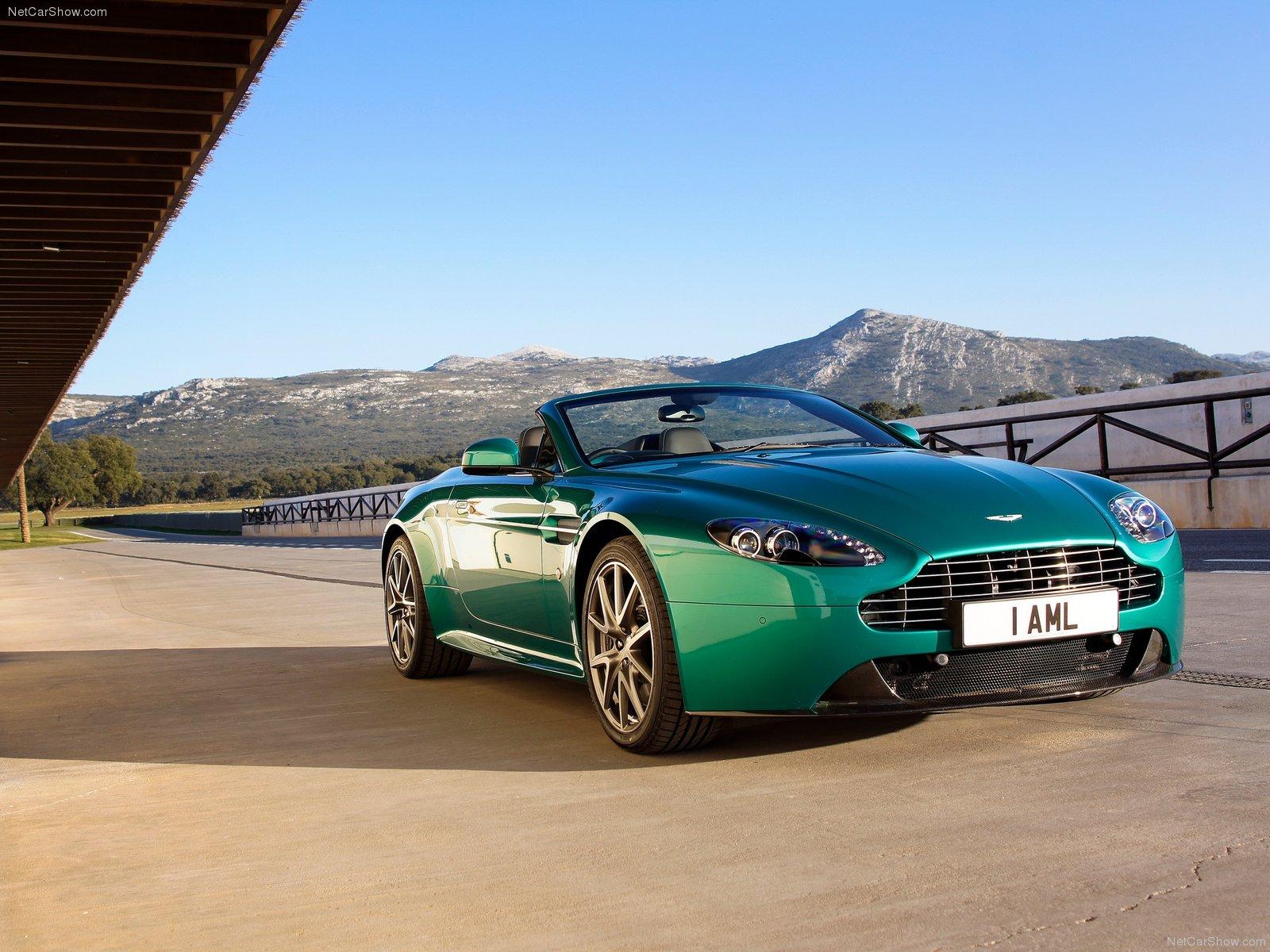 Car Pictures: Aston Martin V8 Vantage S Roadster 2012