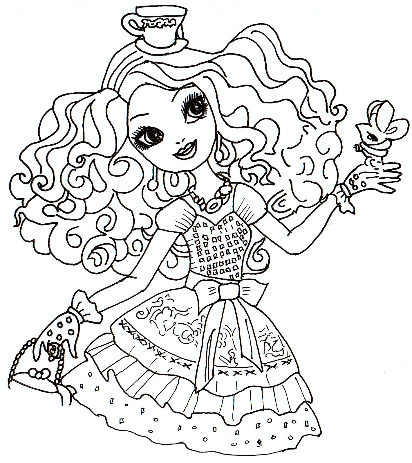 printable coloring pages madeline - photo#15