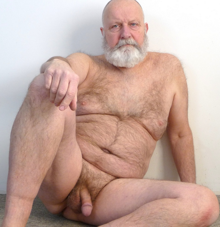 old man naked images - naked pictures - silver hairy men - websites for gay mature men