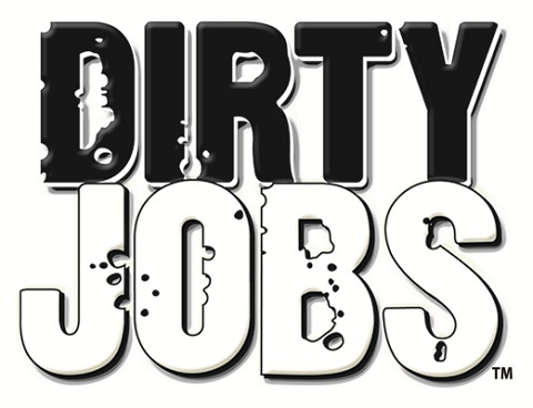 Dirty Jobs logo