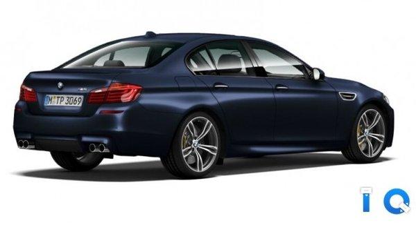 Новый BMW M5 2013 года