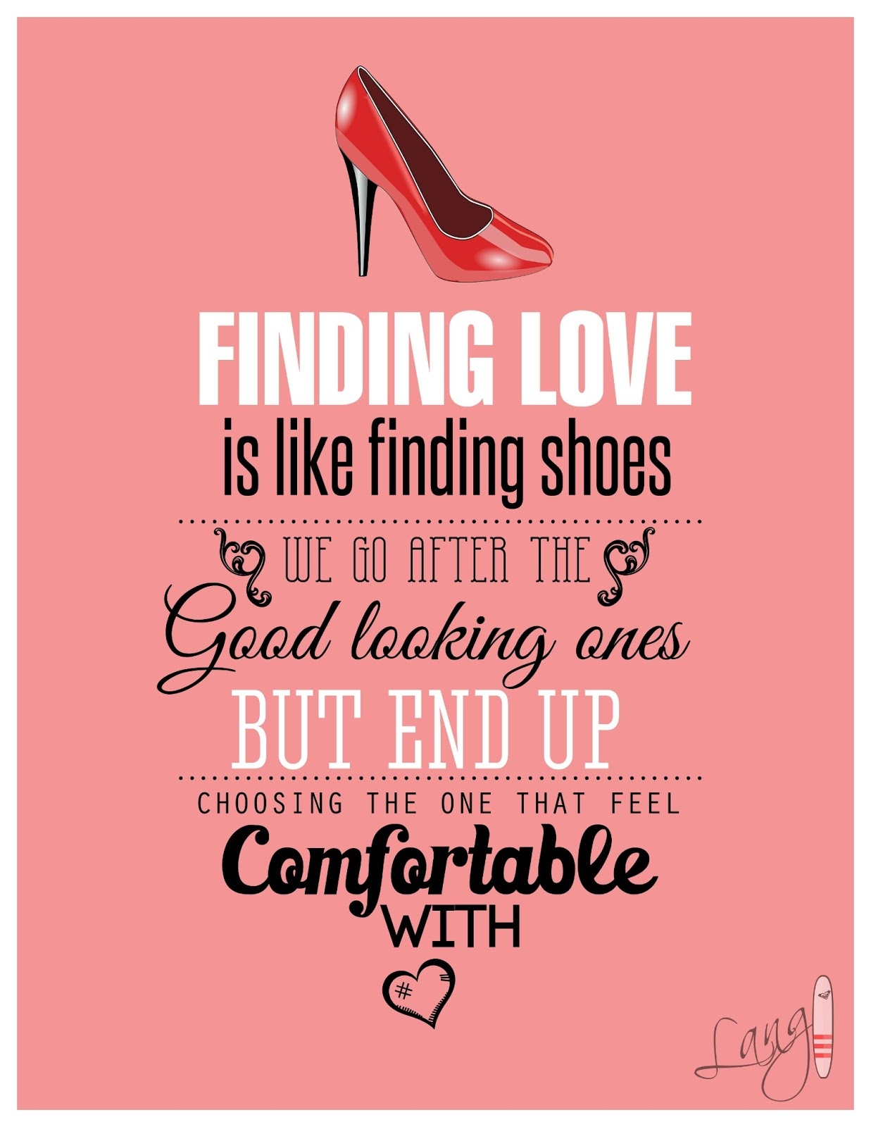 designstreet: valentine's day countdown: #12 love and shoes, Ideas