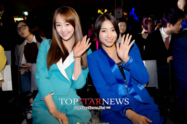 SISTAR Dasom Bora Seoul Fashion Week 2014