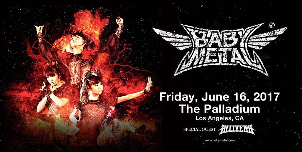 BABYMETAL SHOW REVIEW AND LIVE PHOTOS!