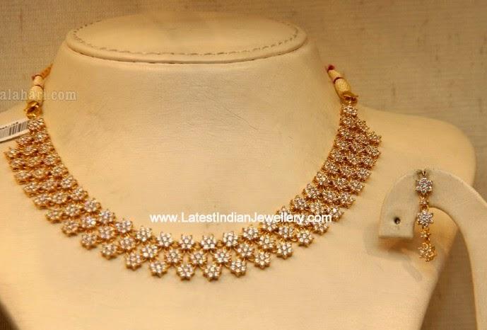 Simple Designer CZ Necklace