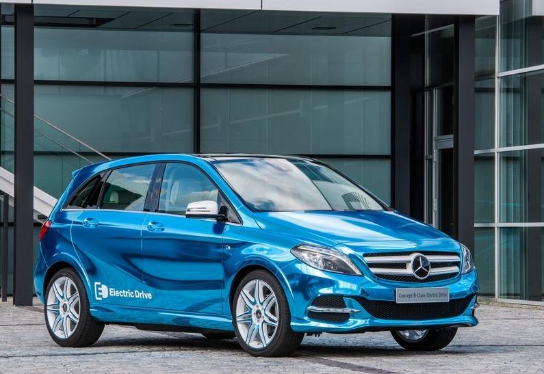 Car barn sport mercedes benz b class concept electric for Mercedes benz concept electric car