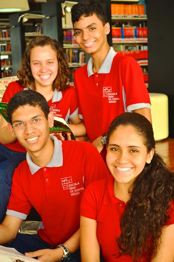 Escola SESC de Ensino Médio abre Processo Seletivo