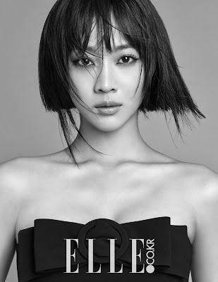 Jo Bo Ah - Elle Magazine January Issue 2016
