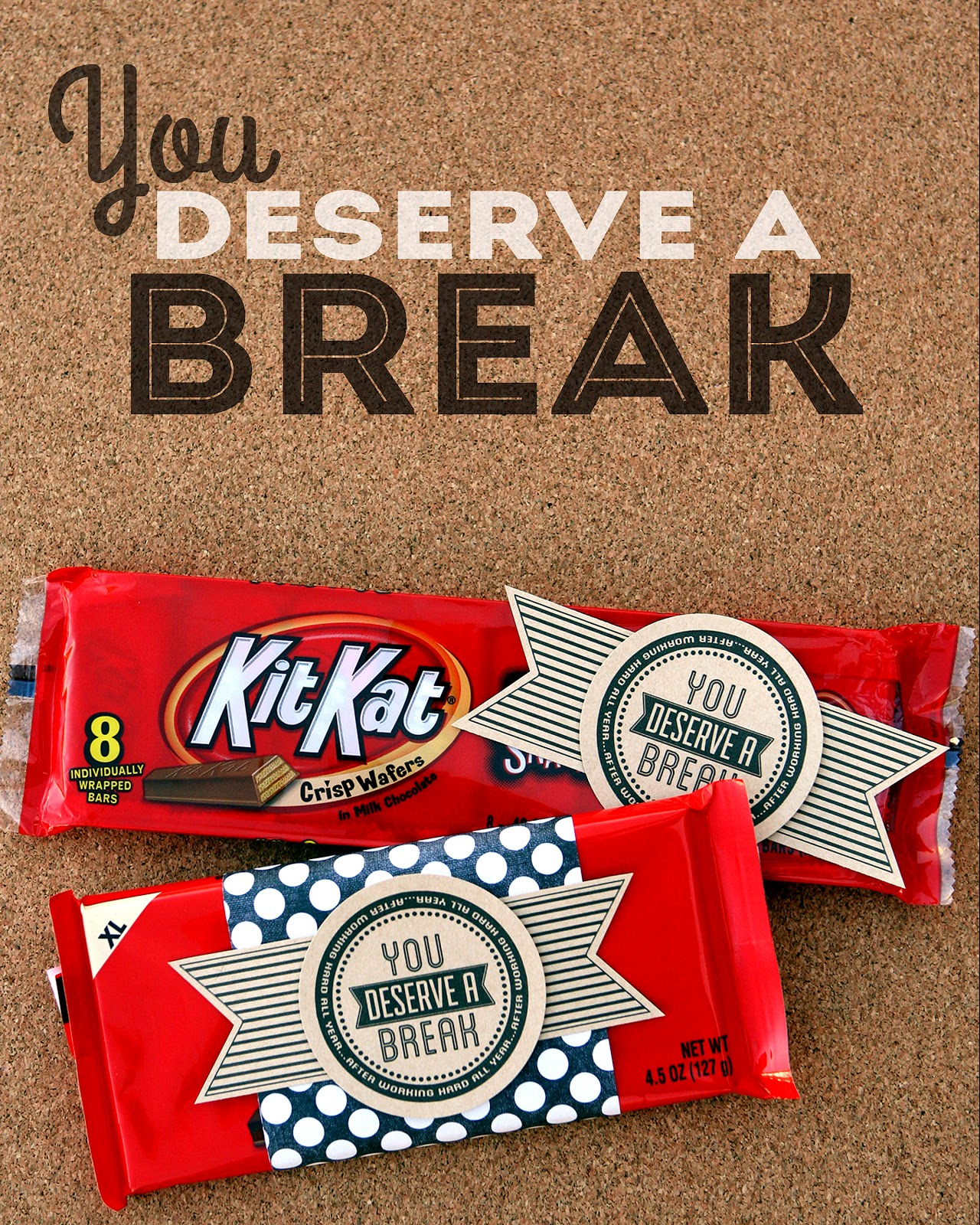 You Deserve A Break - Eighteen25