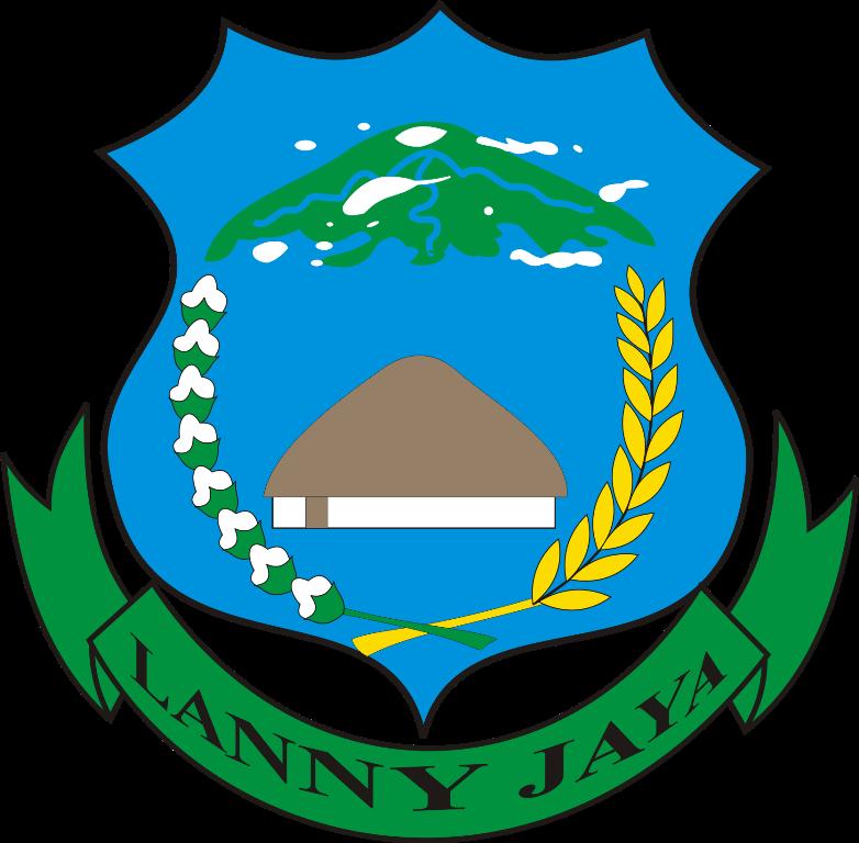 Logo Kabupaten Lanny Jaya Dan Kabupaten Pegunungan Bintang Ardi La Madi S Blog