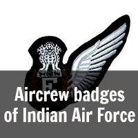 Aircrew Badges of Indian Air Force