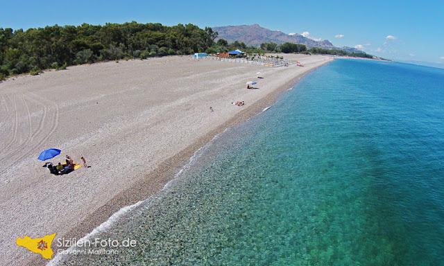 Toller Strand für den Sizilien Urlaub - Marina di Cottone Ostküste