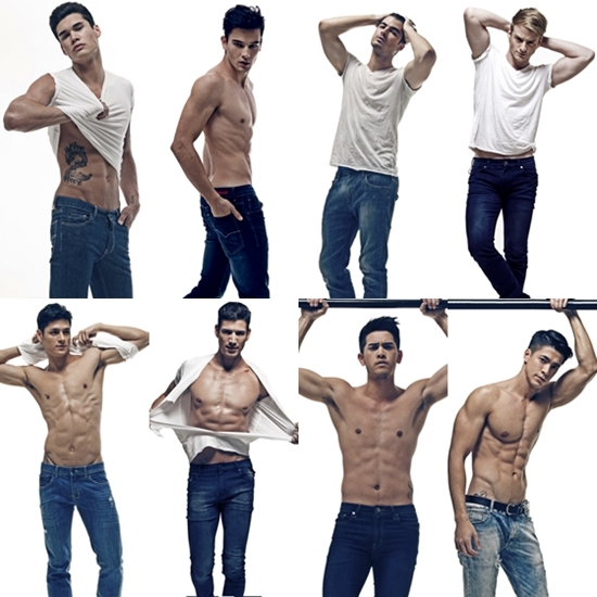 Clockwise from top left: AJ Hanson, Bruno, Callum David, Renan Corbani, Sam Adjani, Mark McMahon, Osny Fernandez, and Hideo Muraoka