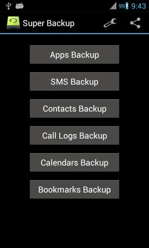 My Backup Pro for Android