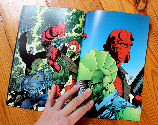 Savage Dragon/Hellboy