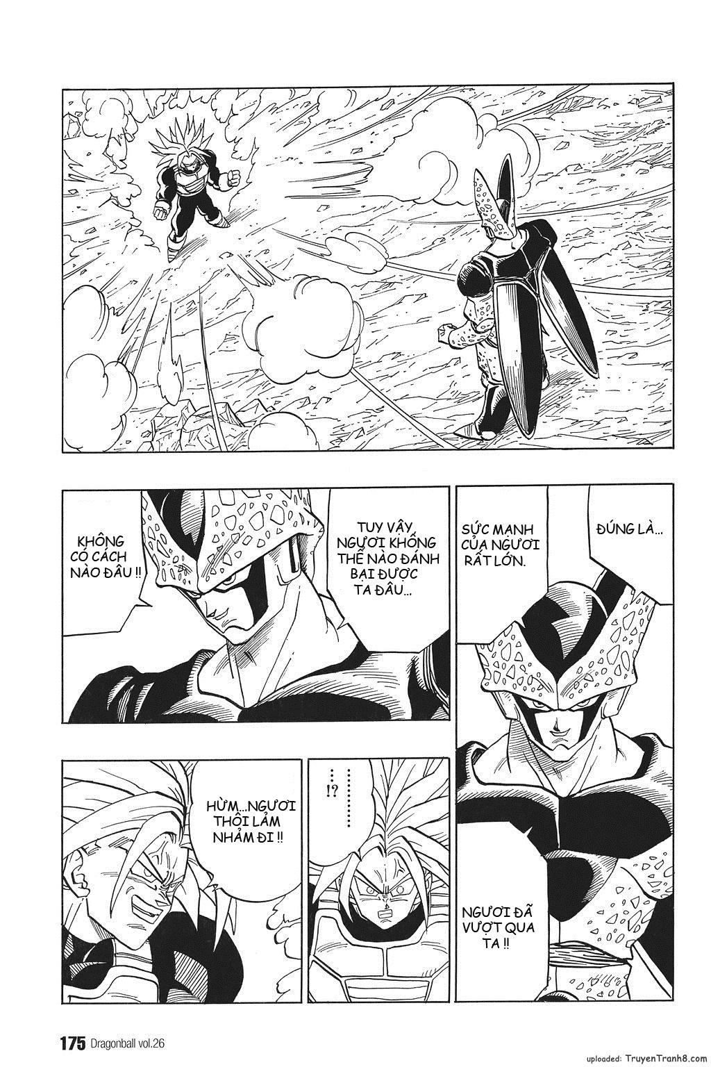 xem truyen moi - Dragon Ball Bản Vip - Bản Đẹp Nguyên Gốc Chap 387