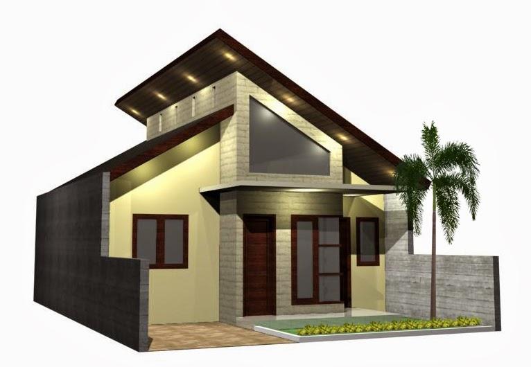 inspirasi desain rumah anda desain rumah atap miring