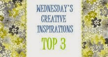 I made Top 3 at Creative Inspirations!