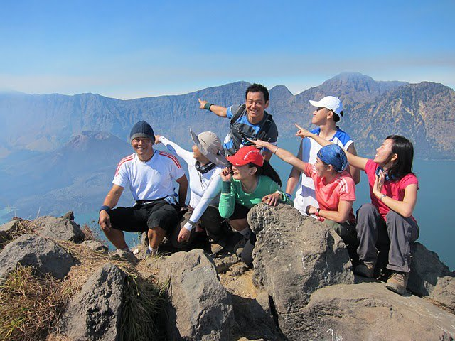 Plawangan Senaru of Mount Rinjani