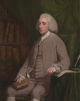 Tobias Smollett by Nathaniel Dance-Holland, 1764