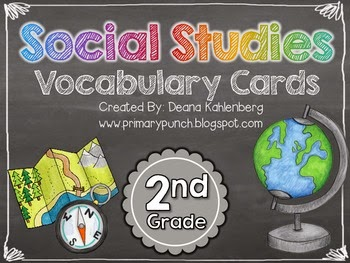 https://www.teacherspayteachers.com/Product/Social-Studies-Vocabulary-Cards-2nd-Grade-321989