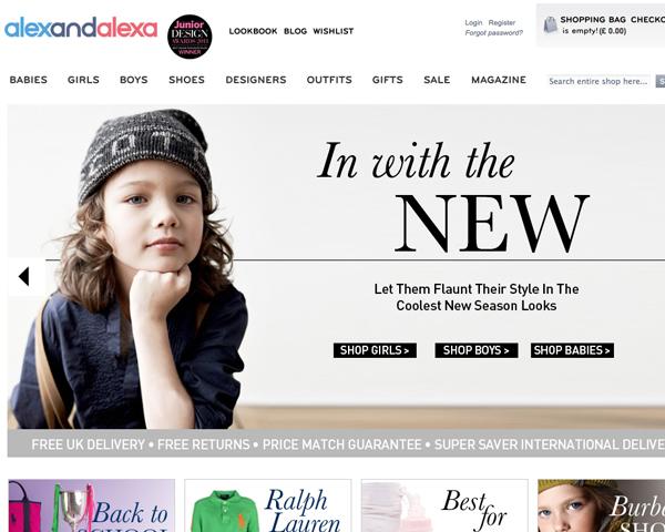 una empresa que se destaca en este sector es alex and alexa una boutique inglesa que vende modas de diseadores reconocidos en el mundo