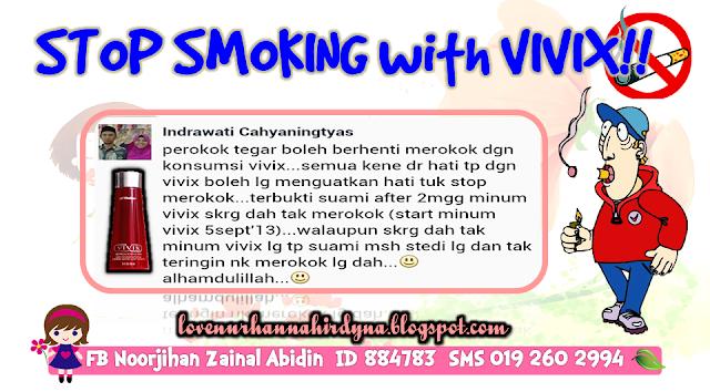 Vivix untuk perokok tegar