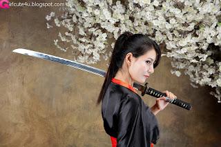 1 Cha Sun Hwa - Samurai Girl-very cute asian girl-girlcute4u.blogspot.com