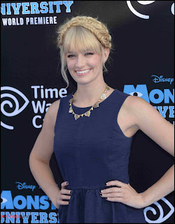 "Beth Behrs Pictures in tail Dress at ""Monsters University"" Premiere  0001"