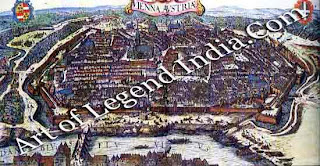 This German engraving shows the Imperial city as it must have looked when Cranach arrived there around the year 1501. It was here that he established his reputation as a painter, and developed his mature style.