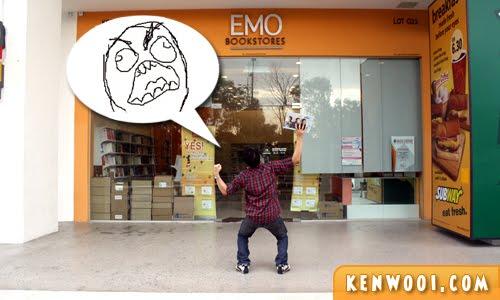 emo rage pose