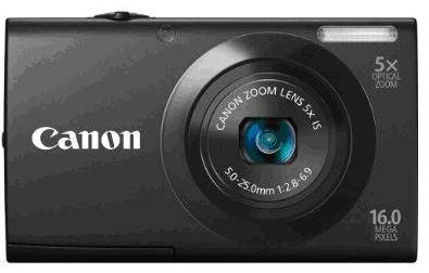 Canon PowerShot A3400 IS Black Color