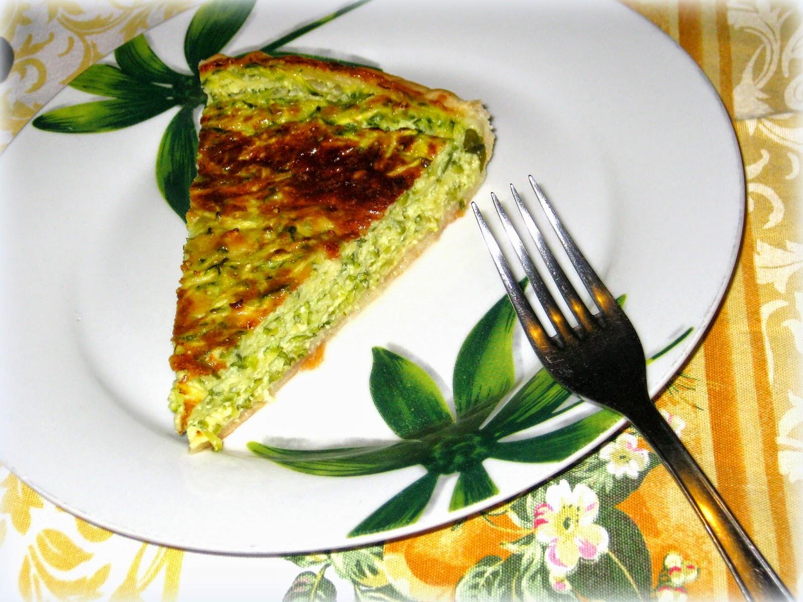 La ricetta della Quiche di Zucchine è facile da preparare e il sapore è fresco e delicato, con basilico e tante zucchine.
