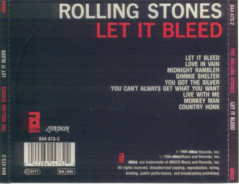 let it bleed: