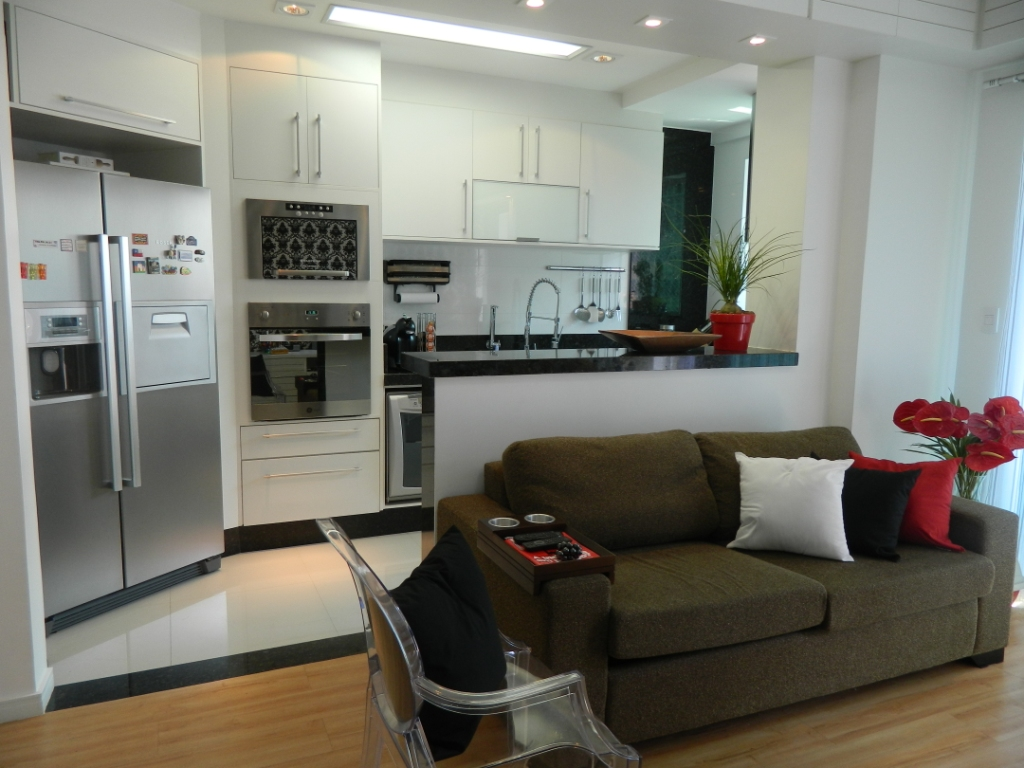 desejos realizados resumem o projeto deste apartamento #6C3A2D 1024 768