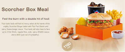 Kfc Meal Box ... Fried Bloggin': TLO Review - KFC Scorcher Box Meal - Festival Heights