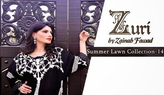 Zuri by Zainab Lawn 2014