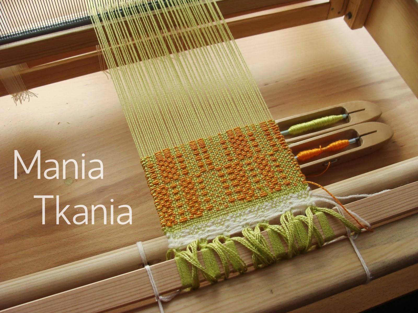 ręcznie tkany materiał / crackle