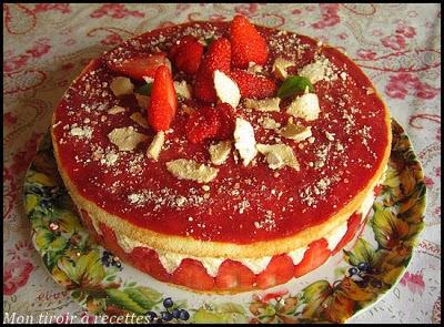fraisier maison