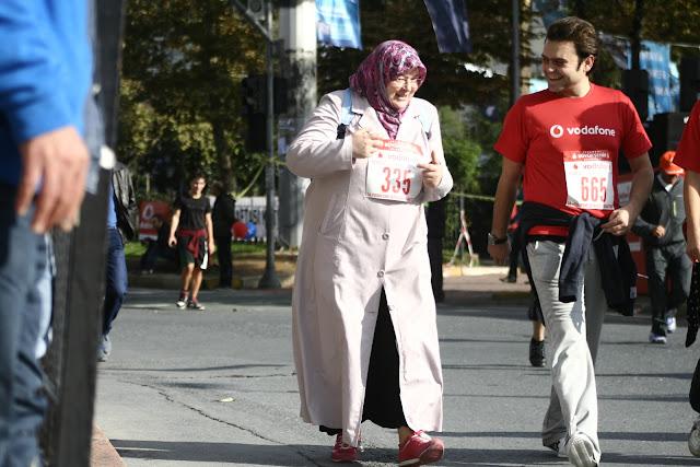'Runner' The Istanbul Eurasia Marathon 2012.
