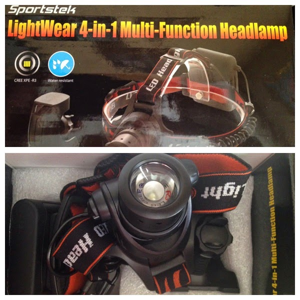 Sportstek 4 in 1 MultiFunction Headlamp