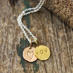 Ma Bicyclette - Buy Handmade - Valentines Gifts For Her - Posh Totty - Personalised Necklace