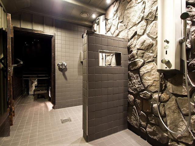 Eurohostel sauna in Helsinki, Finland