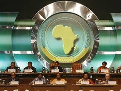 The African Union represents 55-member states. Just Click on This Photo to View the AU Website