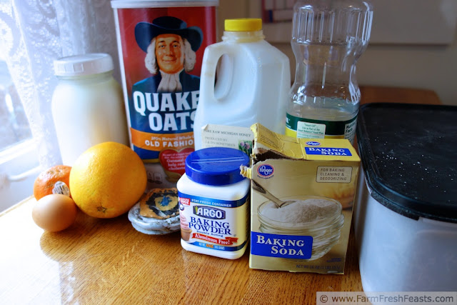 Citrus and Honey Whole Grain Muffins | Farm Fresh Feasts