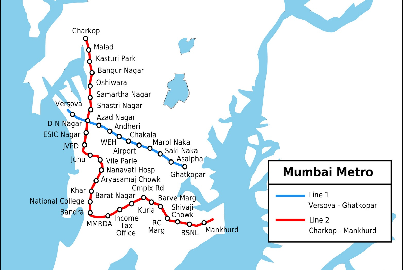 mumbai metro map stations : Mumbai Metro news Today in Pictures
