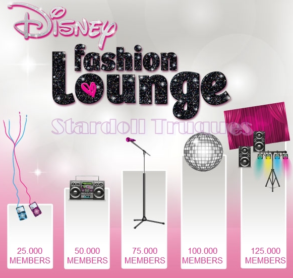 R  Dio Gr  Tis   Clube Disney Fashion Lounge