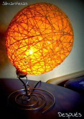 Cómo hacer una lámpara de noche